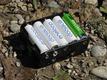 Light buffer battery for solar power