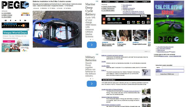 Layout for very large screens, 2280 pixel and more width The only difference to the full-HD layout: the block for own ads moves from below the navigation left to an own column right.