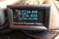 Measure a 12 V solar equipment