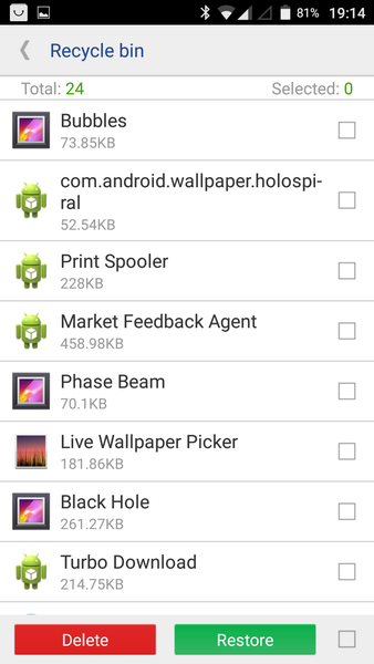 Uninstall at Doogee X5 Max pro Android 6 In Settings -> Apps, you only saw ''Disable'' in gray. But if you have root and uninstaller, you can Delete all unwanted. Picture 2
