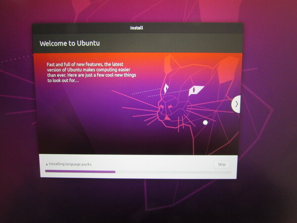 What can be seen during the installation of Ubuntu 20.04.1? Hints for VLC, Rythm Box Music Player, Spotify, Shotwell Photo Manager, GIMP, Shotcut Video Editor, Firefox, Thunderbird and Chromium.